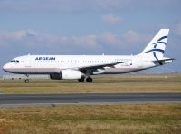 Photo: Aegean Airlines, Airbus A320, SX-DVM