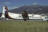 Photo: AeroGal, Fairchild F27, HC-BSL