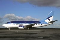 Photo: Estonian Air, Boeing 737-500, ES-ABI