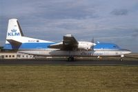 Photo: KLM Cityhopper, Fokker F50, PH-KVC