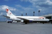 Photo: British Airways, Boeing 737-200, G-BKYG