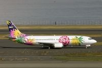 Photo: Skynet Asia Airways, Boeing 737-400, JA737V
