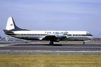 Photo: TAN Airlines, Lockheed L-188 Electra, HR-TNL