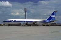 Photo: Trans European Airways (TEA), Boeing 707-100, OO-TEC