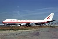 Photo: World Airways, Boeing 747-200, N748WA