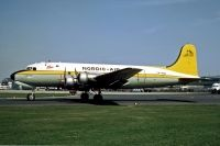 Photo: Nordic Air, Douglas C-54 Skymaster, LN-MOB