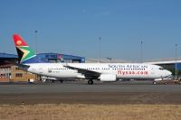 Photo: South African Airways, Boeing 737-800, ZS-SJU