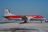 Photo: Phuket Air, NAMC YS-11, HS-KVO