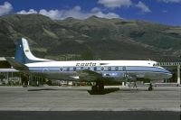 Photo: SAETA, Vickers Viscount 700, HC-ARS