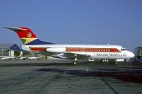 Photo: Airlink Swaziland, Fokker F28, 3D-ALN