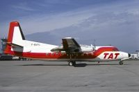 Photo: TAT - Touraine Air Transport, Fokker F27 Friendship, F-BUFU