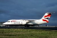 Photo: British Airways, British Aerospace BAe 146-200, G-GNTZ