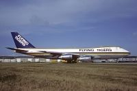 Photo: Flying Tigers, Boeing 747-200, N701SW