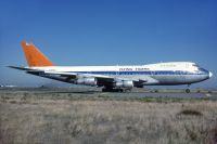 Photo: Flying Tigers, Boeing 747-200, N749WA