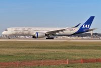 Photo: Scandinavian Airlines - SAS, Airbus A350, SE-RSB