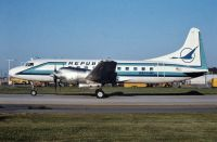 Photo: Republic Airlines, Convair CV-580, N8444H