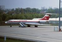 Photo: Interflug, Tupolev Tu-134, D-AOBQ