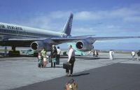 Photo: Air New Zealand, Douglas DC-8-50