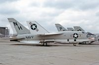 Photo: United States Navy, Vought F-8 Crusader, 146855