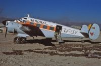 Photo: Aerobal, Beech 18, CP-1197