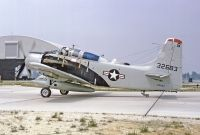 Photo: United States Air Force, Douglas A-1 Skyraider, 132683