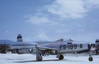 Photo: United States Air Force, Republic F-84E Thunderjet, 50-1199