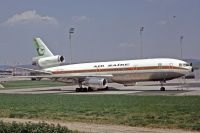 Photo: Air Zaïre, McDonnell Douglas DC-10-10, 9Q-CLI