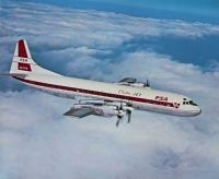 Photo: PSA - Pacific Southwest Airlines, Lockheed L-188 Electra, N71PS