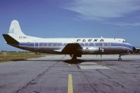 Photo: Pluna, Vickers Viscount 800, CX-BIY