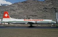 Photo: Transvalair, Canadair CL-44, HB-IEO