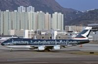 Photo: Cathay Pacific Airways, Boeing 747-200, B-HIB