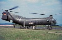 Photo: Germany - Army, Piasecki H-21 Workhorse/Shawnee, QF470