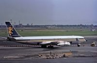 Photo: Caledonian Airways, Boeing 707-300, G-AVTW