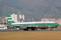Photo: Cathay Pacific Airways, Boeing 707-300, VR-HHE