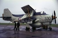 Photo: Royal Navy, Fairey Gannet, XR433