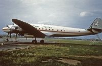 Photo: Miami Airline, Lockheed Constellation