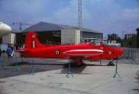Photo: Royal Air Force, BAC Jet Provost, XP553