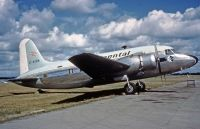 Photo: Continental Airlines, Vickers Viking, G-AIKN