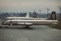 Photo: Caledonian Airways, Bristol Britannia 310, G-ATNZ