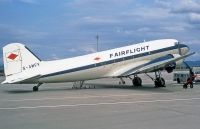 Photo: Fairflight, Douglas DC-3, G-AMFV