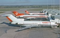 Photo: Ansett Airways, Boeing 727-100, VH-RMF