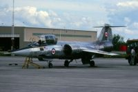 Photo: Canadian Armed Forces, Canadair CF-104 Starfighter, 104711