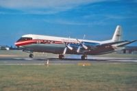 Photo: Trans Canada Airlines - TCA, Vickers Vanguard, CF-TKB