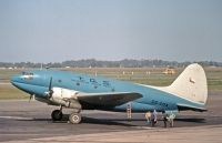 Photo: Transportes Aereos Squella, Curtiss C-46 Commando, CC-COA