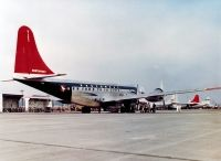 Photo: Northwest Airlines, Boeing 377 Stratocruiser, N7604