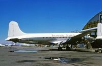 Photo: Transair Congo, Douglas C-54 Skymaster, 9Q-CAQ