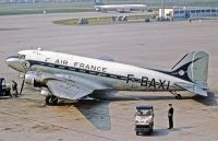 Photo: Air France, Douglas DC-3, F-BAXI