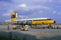 Photo: Monarch Airlines, Bristol Britannia 310, G-AOVI