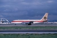 Photo: Continental Airlines, Boeing 720, N17208