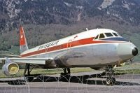 Photo: Swissair, Convair CV-990 Coronado, HB-IHC